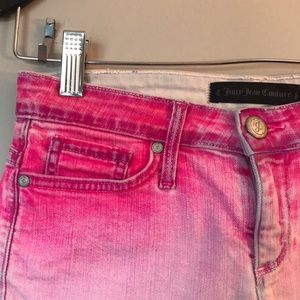 Juicy Couture Shorts - Juicy Couture Pink Ombré Shorts Size 24